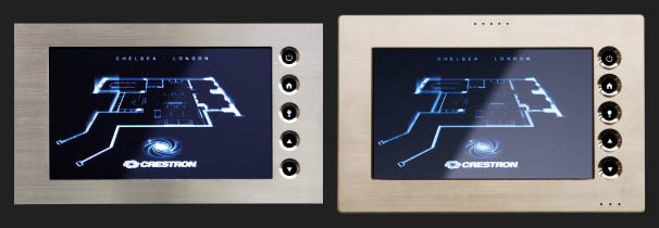 Custom faceplates and touchpanels are standard for your home.