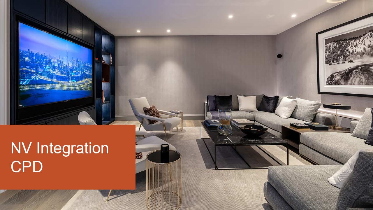 NV Integration CPD Smart Home Automation Installer