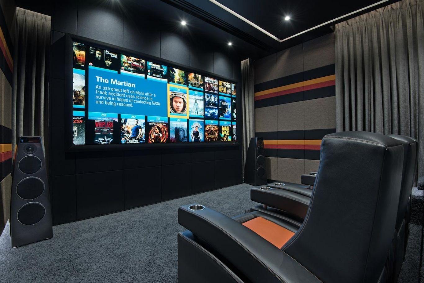 Award Winning Siam Super Home Cinema Project - NV Integration