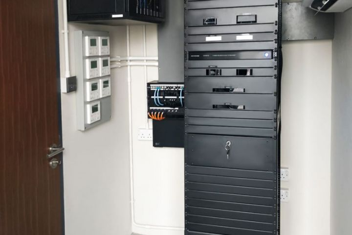 South East Asia Smart Home Automation Rack