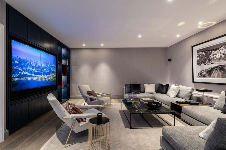 Smart Home Install Media Room