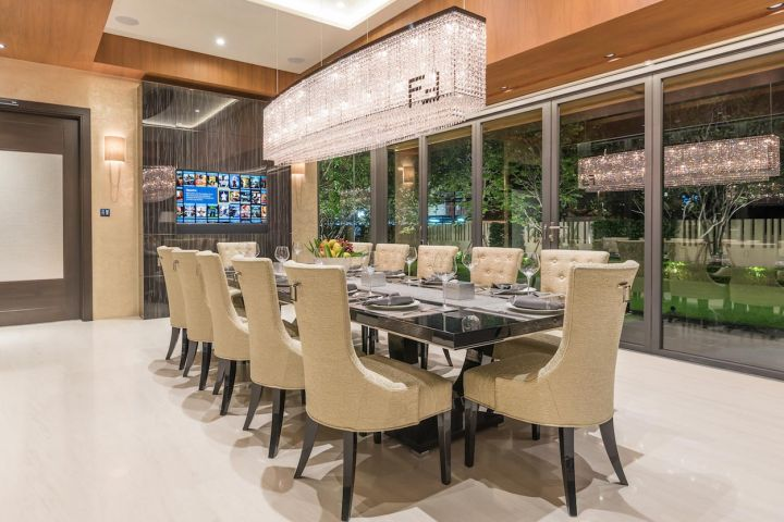 Automated dinning room systems
