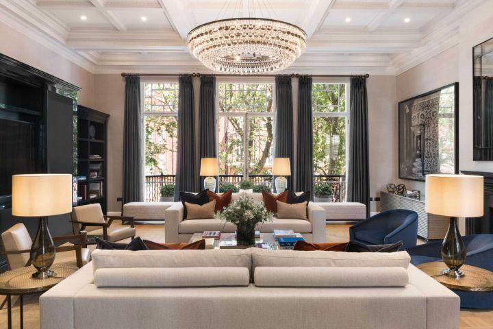 Smart Home Installation Knightsbridge Reception Room