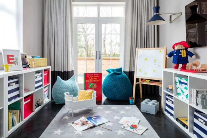 Smart Home Installers London Playroom with TV and Audio