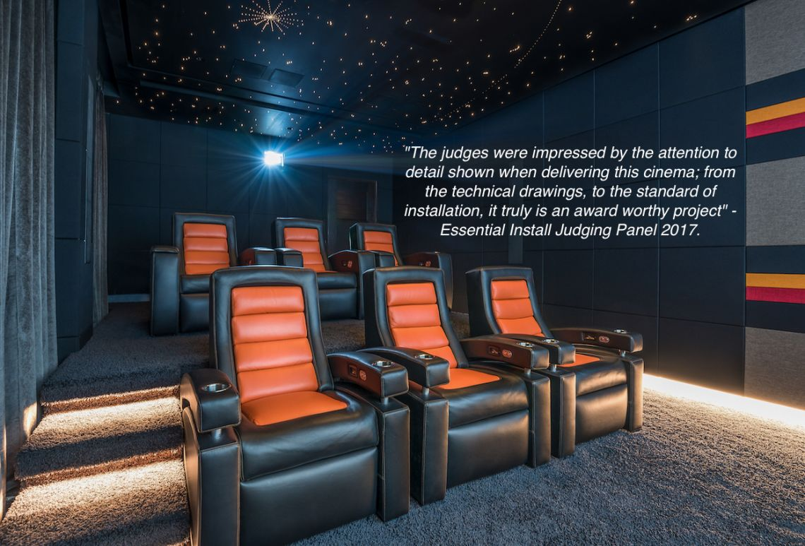 Best home cinema installation in the UK