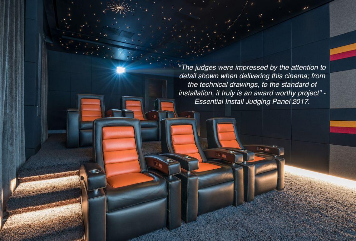 Best home cinema installation in the UK