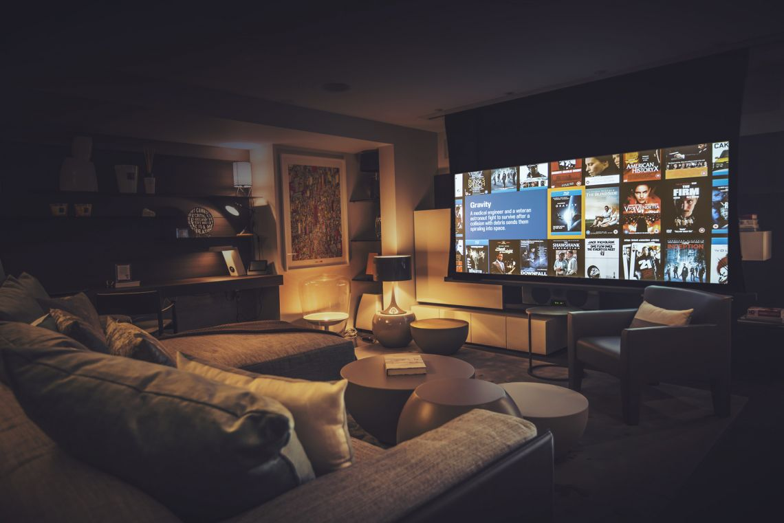 Dual use home cinema
