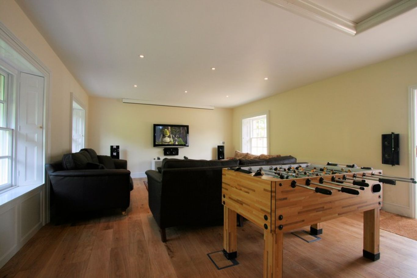 Media and home cinema room