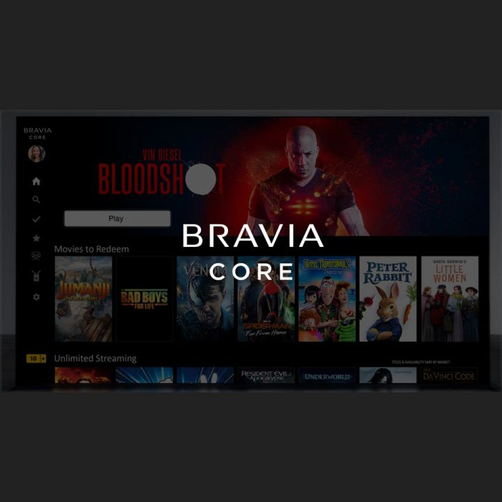 Sony Bravia Core, a better way of streaming?