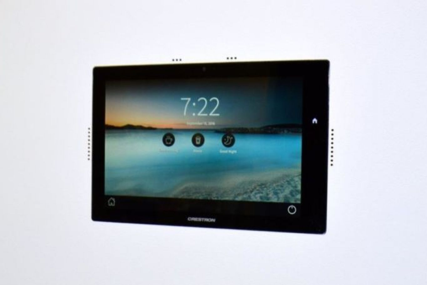 Smart home touch screen installation