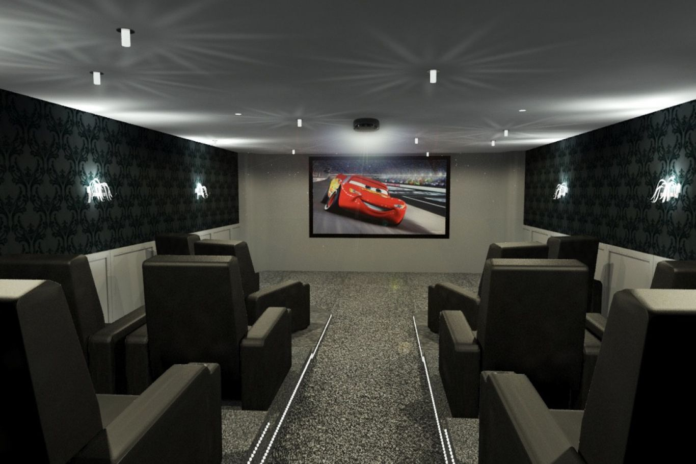 Installers of custom home cinema rooms