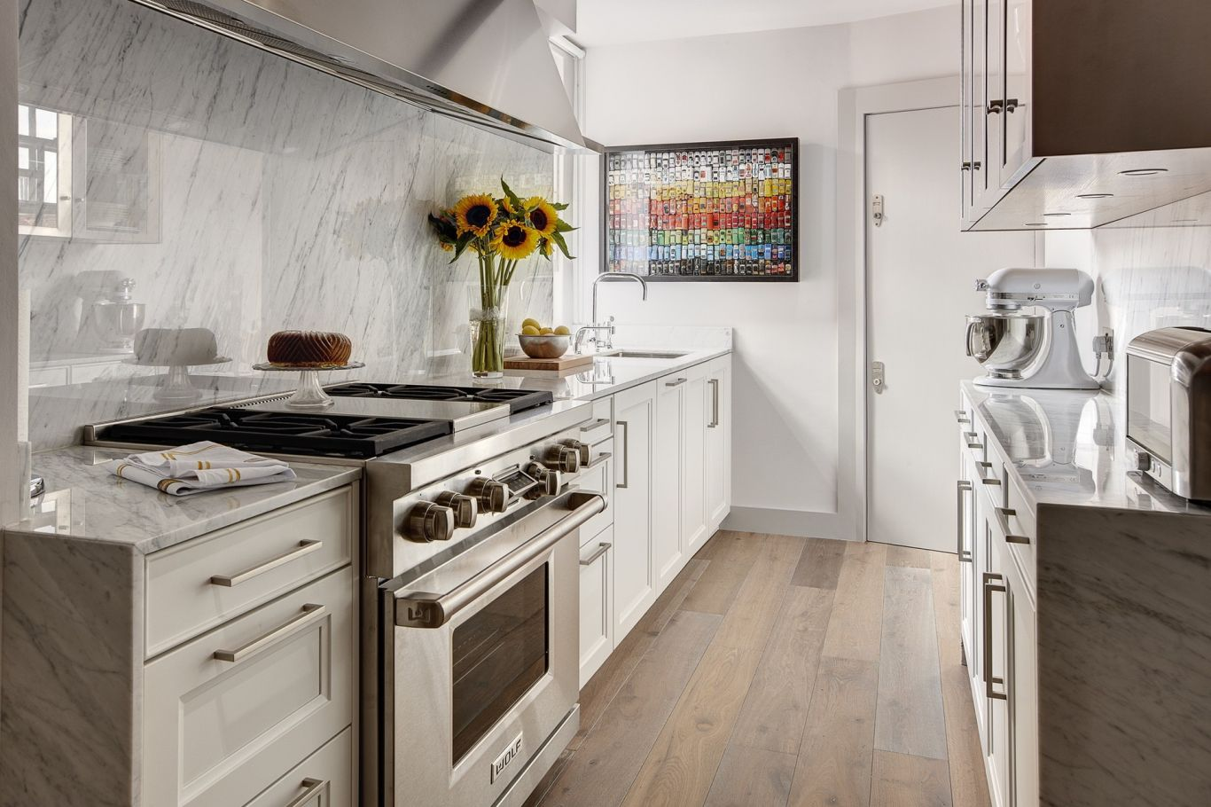 Bespoke kitchen design with automation