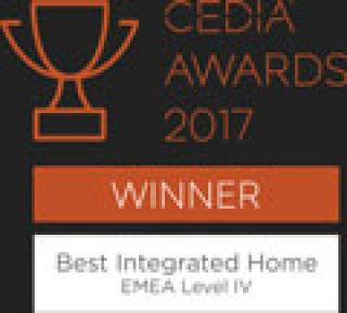 CEDIA Award Winners 2017 Best Integrated Home