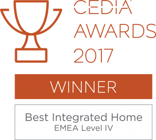 CEDIA Awards best integrated home
